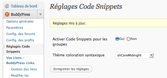 here comes… BP Code Snippets