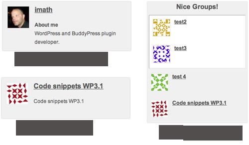 Bowe Codes, 10 shortcodes BuddyPress !