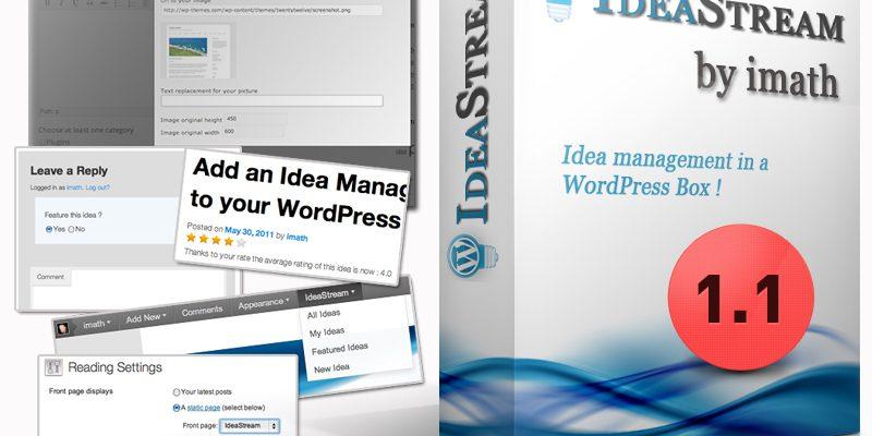 WP Idea Stream : la 1.1 soigne son éditeur !