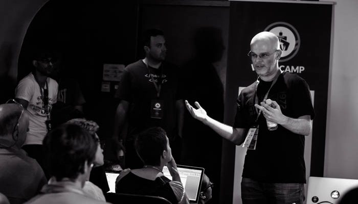 BuddyPress, star d'un atelier lors du WordCamp Lyon 2015.