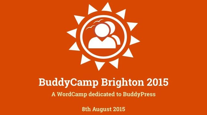 #BuddyCamp Brighton, tout simplement brillant!
