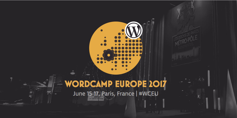 Rendez-vous au WordCamp Europe 2017!