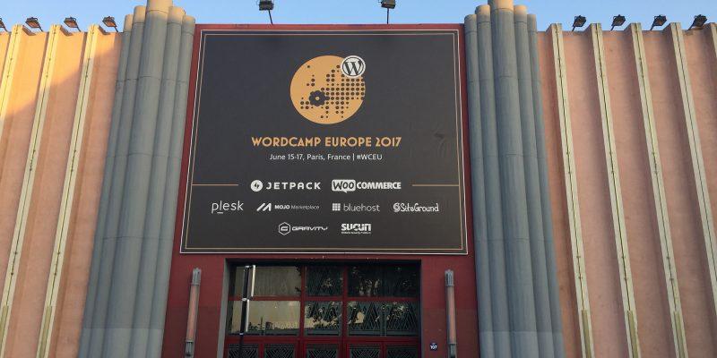La cinquième édition du WordCamp Europe s'est déroulée à Paris.