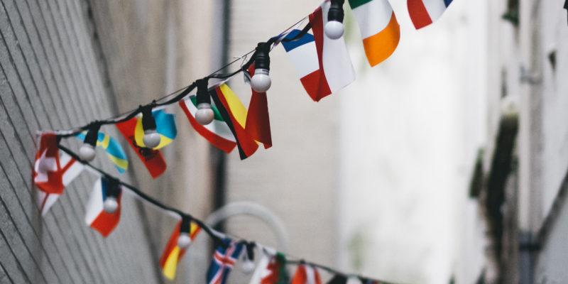Guirlande de drapeaux