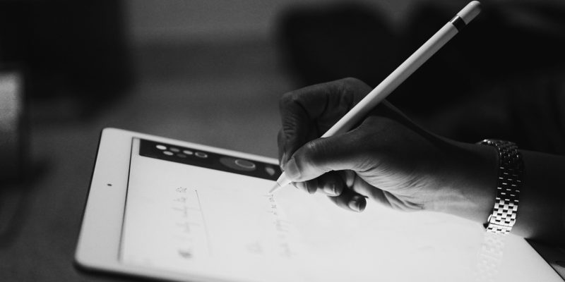 écrire en blocs