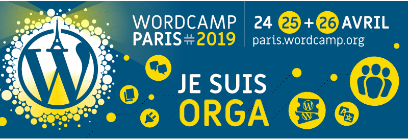 Participez au WordCamp Paris 2019 !